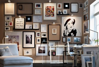 Ikea-Wall-Of-Art